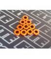 Arandelas naranjas pack 0,5mm x 10