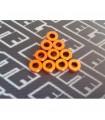 Arandelas naranjas pack 1mm x 10