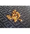 Tornilleria Gold Botón M3